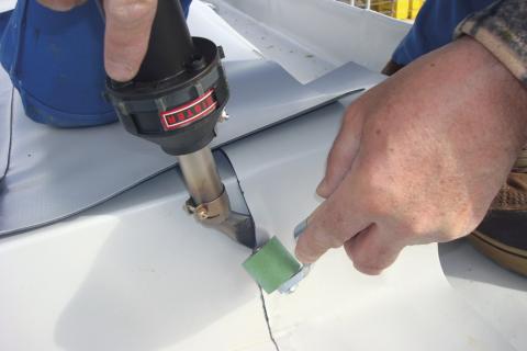 reparación de lonas, toldos y carpas