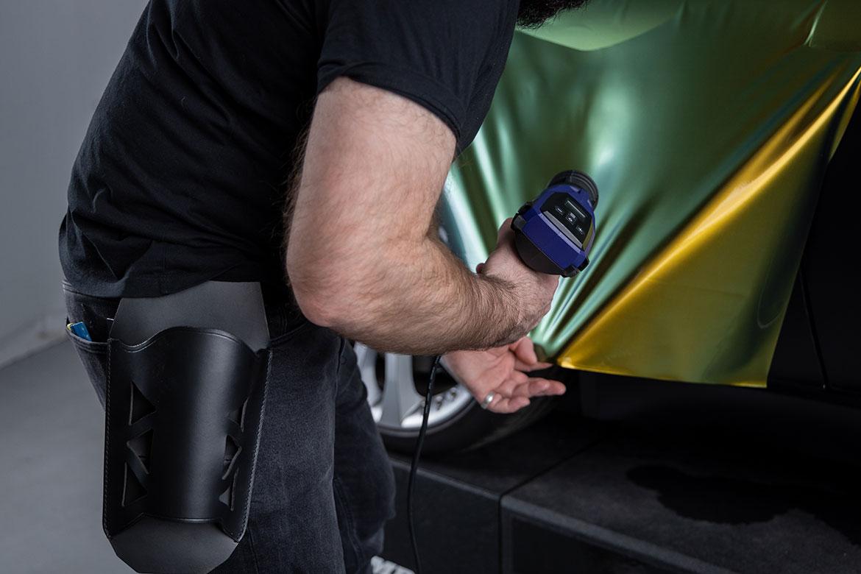 Funda de cuero accesorio útil para la pistola de calor de Weldy-QueroTools