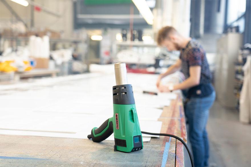 Cómo realizar correctamente el mantenimiento de un soldador manual de aire caliente